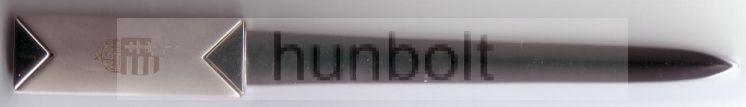 Levélbontó címeres 16 cm III.