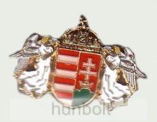 Angyalos új  címeres jelvény 19 mm