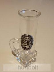 Ón Kossuth címeres feles füles  pohár