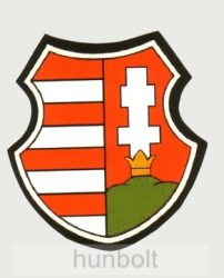 Kossuth címer  hűtőmágnes (7,5x8 cm)