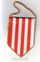 5 szögletű autós árpádsávos zászló arany zsinórral