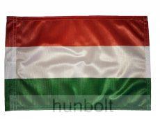Nemzeti színű motoros zászló 25X35 cm