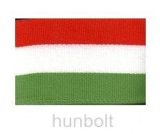 Széles nemzeti színű szalag