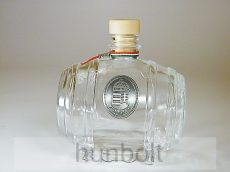 Üveghordó ón  címerrel  0,5 liter