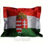Nemzeti színű címeres párnahuzat