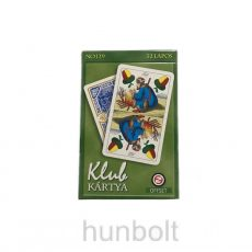 Nagyméretű magyar Klub kártya
