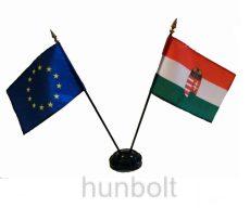 magyar és Európa  zászló