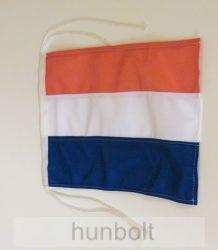Holland megkötős hajós zászló (20X30 cm)