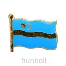 Székely zászló jelvény 2x1,5 cm