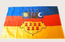 Erdély címeres zászló
