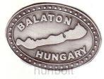 Ón ovális Balaton öntapadó matrica (6,5X4,5 cm)