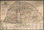 Magyarország Borászati térképe 70x100 cm
