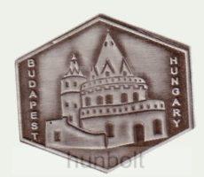 Budapest - Halászbástya ón matrica