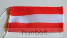 Ausztria zászló antennára, biciklire, 10x6 cm