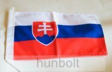Szlovák 2 oldalas hajós zászló (20X30 cm)
