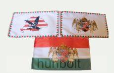 3 db kis zászló (15x25 cm) I.