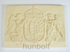 Nagy angyalos címer műkő (46x33 cm)