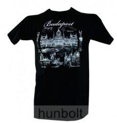 Budapest - Parlament fekete póló