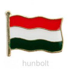 Zászló jelvény hullámos