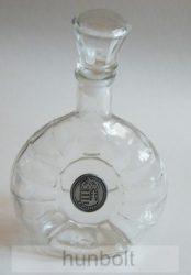 Üvegkulacs ón címer matricával 0,25 l (margaréta)