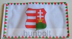 Farkasfogas Kossuth címeres zászló
