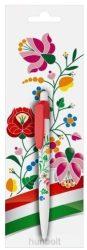Kalocsai virágmintás golyóstoll díszcsomagolással