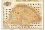 Magyar Szent Korona országai plakát  65x86,5 cm- különböző kivitelben