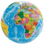 Földgömb labda különböző méretben