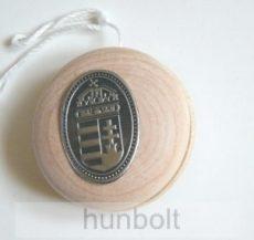 Fa jojó ón címerrel 4,5 cm