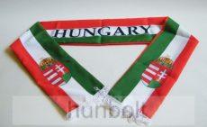 Szurkolói sál  Magyarország-Hungary Anyaga: puha poliészter. Mérete:14x140 cm