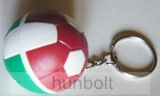 Nemzeti focilabda kulcstartó- nemzeti színű