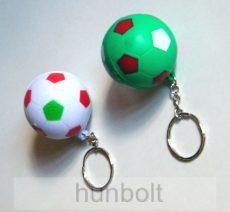 Nemzeti  szivacs foci kulcstartó