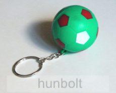 Nemzeti  szivacs zöld foci kulcstartó