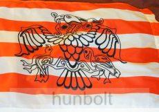 Árpád sávos fekete rakamazi zászló