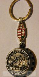 Budapest-Lánchíd sörbontó + címer kulcstartó