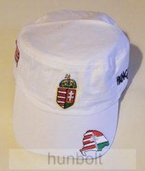 Militari sapka fehér, címeres Nagy-Magyarország