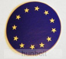Európa kerek matrica 5 cm