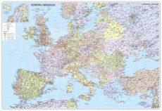 Európa országai 125x90 cm Ívben, fóliázva lécezve