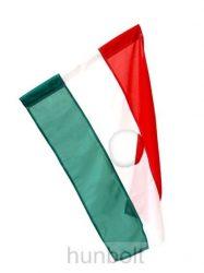 Nemzeti színű lyukas zászló, 56-OS EMLÉKZÁSZLÓ 60x90 cm