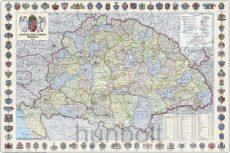 A Magyar Szent korona országai (1:1 600 000), 70x50 cm (B/2)