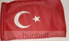 Török motoros zászló, 25X35 cm