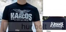 HARCOS-TURUL póló- fekete
