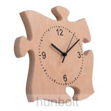 Puzzle alakú fa falióra