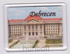 Debrecen Egyetem felső felirattal hűtőmágnes (műanyag keretes)