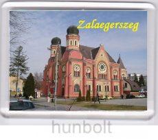 Zalaegerszeg Hangverseny és kiállítóterem hűtőmágnes (műanyag keretes)