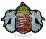 Felvarrható hímzett angyalos címer