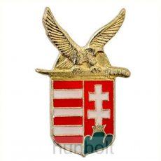 Magyar címeres turulos (18mm) jelvény