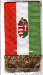 4 szögletű címeres zsinóros zászló