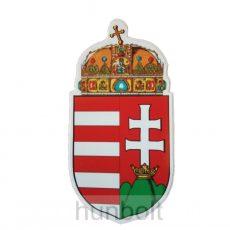 Öntapadó matrica, címeres külső 23 cm