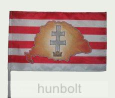 nagy magyar országos árpádsávos zászló